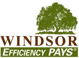 Windsor Efficiency PAYS Logo.  For accessibility assistance, please call SCEIP at (707) 565-6470.