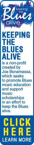 Keeping the Blues Alive is a non-profit created by Joe Bonamassa, which seeks to promote Blues music education and support music scholarships in an effort to keep the Blues alive. Click to Learn More