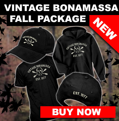 Fall is here! Get your Vintage Bonamassa fall package now!